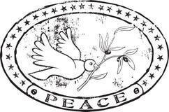 Estampille de paix illustration libre de droits