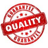 Estampille de qualité Images stock
