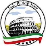 Estampille de Rome illustration libre de droits