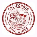 Estampille de vins fins Photographie stock libre de droits