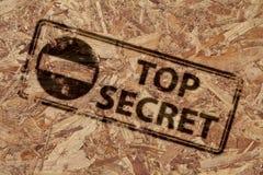Estampille extrêmement secrète Image libre de droits
