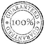 Estampille garantie illustration stock
