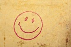 Estampille heureuse de visage Images libres de droits