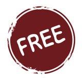 Estampille : libre Image stock