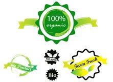 Estampille organique illustration stock
