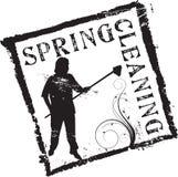 Estampille Spring cleaning illustration stock
