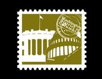 Estampille, Washington DC Photo libre de droits
