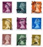 Estampilles BRITANNIQUES Photographie stock libre de droits