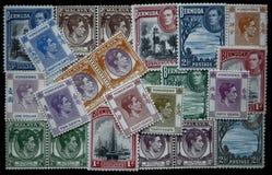 Estampilles de George VI Photos stock