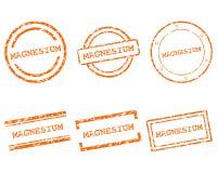 Estampilles de magnésium Images libres de droits
