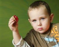 Estampilles de pomme de terre Photographie stock