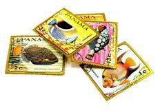 Estampilles de poteau du Panama images stock