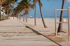 Estancia de la playa Fotografía de archivo libre de regalías
