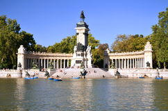Estanque Grande in Retiro Park in Madrid, Spain Stock Photo