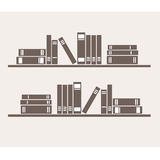 Estante con los libros Libre Illustration