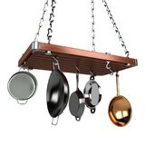 Estante de la cocina Fotografía de archivo libre de regalías