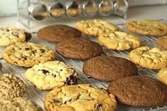 Estante de las galletas 1 Fotografía de archivo