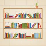 Estante de librería Fotografía de archivo libre de regalías