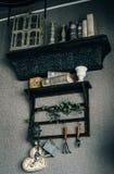 Estante de librería Fotografía de archivo