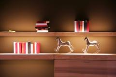 Estante de libro Imagen de archivo libre de regalías