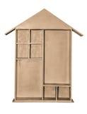 Estante de madera Fotografía de archivo libre de regalías