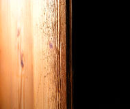 Estante de madera Imagenes de archivo