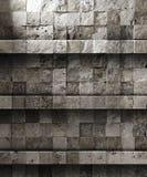 Estante de piedra stock de ilustración