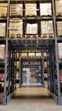 Estante de Warehouse Foto de archivo