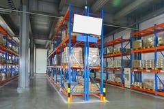 Estante de Warehouse imagenes de archivo