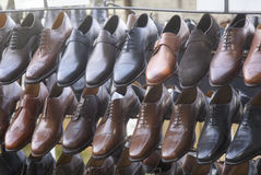 Estante de zapatos Imagenes de archivo