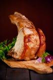 Estante del cerdo para la cena Fotografía de archivo libre de regalías