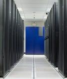 Estante del negro de la tienda del sitio del servidor Imagenes de archivo