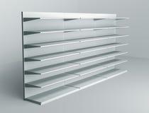 estantes 3D y estante Fotografía de archivo libre de regalías