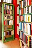 Estantes de libro Fotografía de archivo