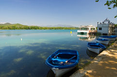 Estany de Banyoles, Catalonia, Spain Stock Photos