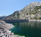 Estany de Cavallers dans les Pyrénées espagnols Images libres de droits