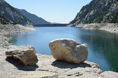 Estany de Cavallers in the Spanish Pyrenees Stock Photography