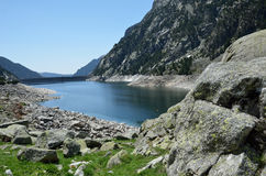 Estany de Cavallers in the Spanish Pyrenees Stock Image