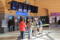 Estação de caminhos-de-ferro Melbourne Austrália da rua do Flinders Imagem de Stock