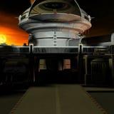 Estação de espaço Fotografia de Stock Royalty Free