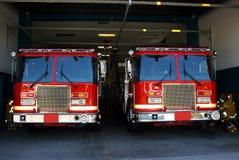 Estação de incêndio Fotos de Stock