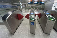 Estação de metro Foto de Stock