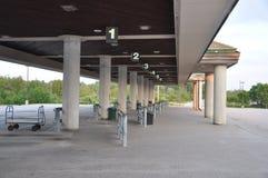 Estação de ônibus Foto de Stock