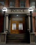 Estação de polícia Fotografia de Stock Royalty Free