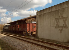 Estação de Radegast, de aqui à eternidade Fotos de Stock Royalty Free