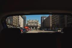 Estação de trem central de Milão Imagem de Stock Royalty Free