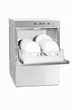 Estar aberto da máquina de lavar louça Imagens de Stock Royalty Free