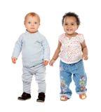 Estar bonito dos bebês Foto de Stock Royalty Free