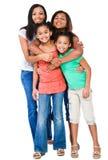 Estar de quatro amigos Fotografia de Stock Royalty Free
