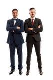 Estar seguro e bem sucedido dos homens de negócio fotografia de stock royalty free